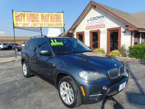 2011 BMW X5 for sale at Crown Used Cars in Oklahoma City OK