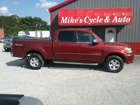 2005 Toyota Tundra for sale at MIKE'S CYCLE & AUTO in Connersville IN