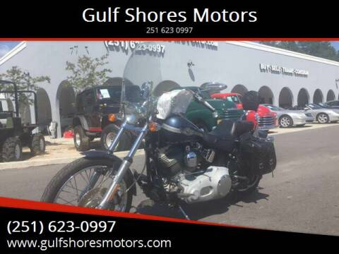 2003 Harley Davidson Fxst for sale at Gulf Shores Motors in Gulf Shores AL