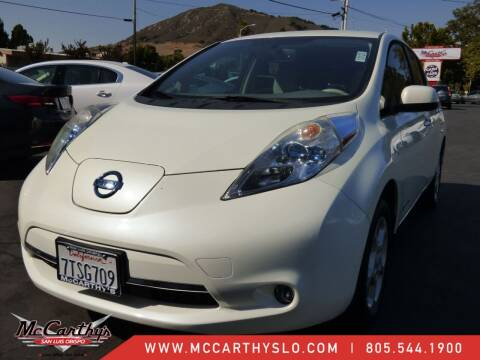 2012 Nissan LEAF for sale at McCarthy Wholesale in San Luis Obispo CA
