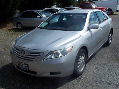 2008 Toyota Camry for sale at M & M Auto Sales LLc in Olympia WA