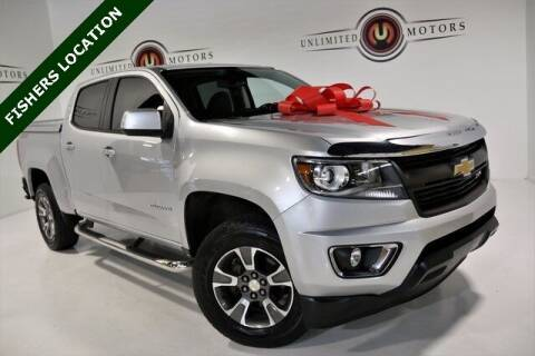 2017 Chevrolet Colorado for sale at Unlimited Motors in Fishers IN