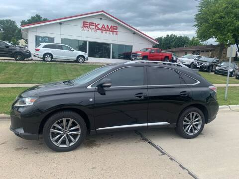 2015 Lexus RX 350 for sale at Efkamp Auto Sales LLC in Des Moines IA