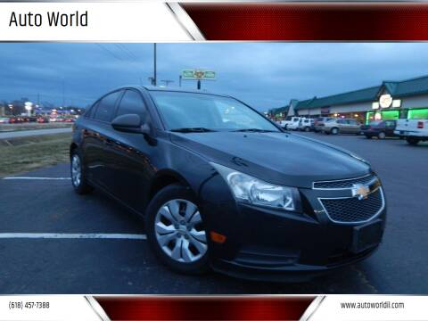 2013 Chevrolet Cruze for sale at Auto World in Carbondale IL