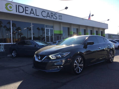 2016 Nissan Maxima for sale at Ideal Cars in Mesa AZ