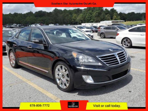 2012 Hyundai Equus for sale at Southern Star Automotive, Inc. in Duluth GA