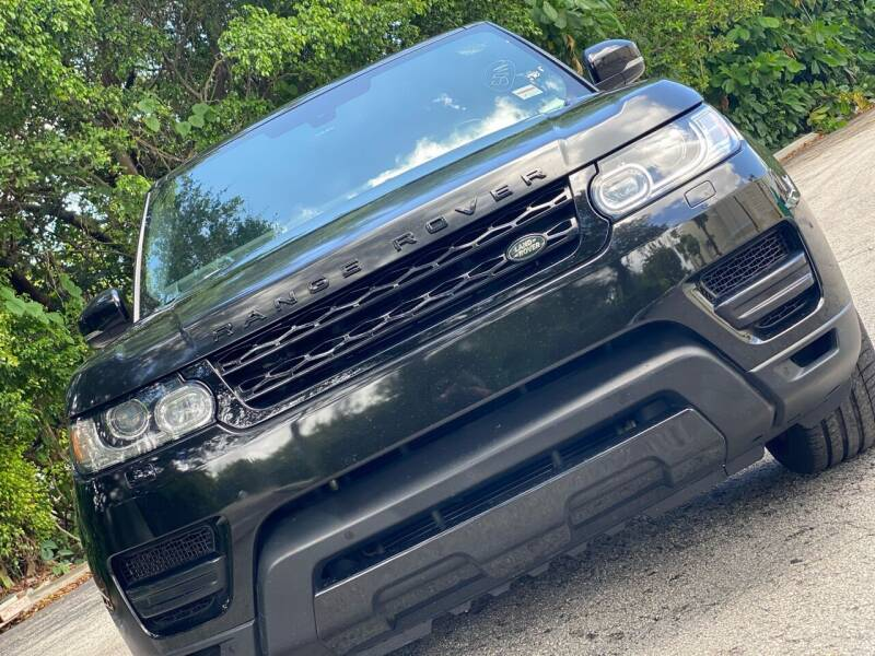2014 Land Rover Range Rover Sport for sale at HIGH PERFORMANCE MOTORS in Hollywood FL