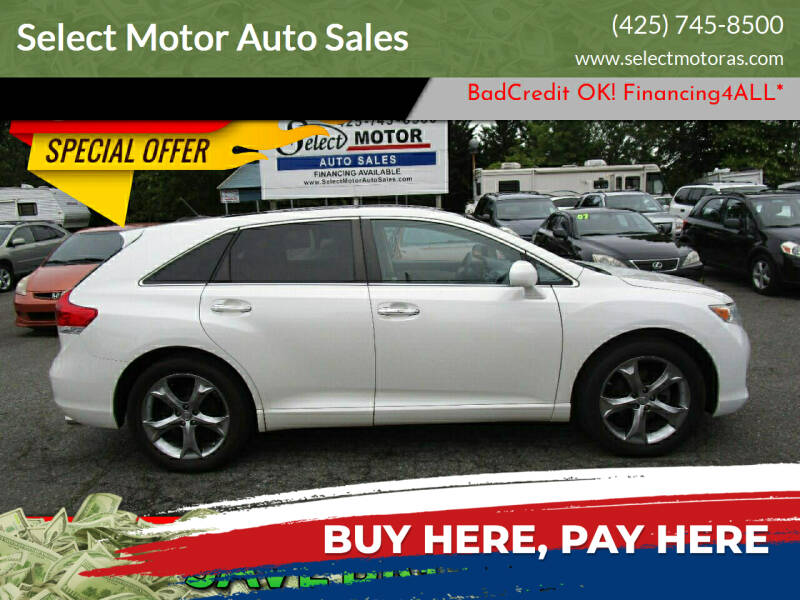 2010 Toyota Venza for sale at Select Motor Auto Sales in Lynnwood WA