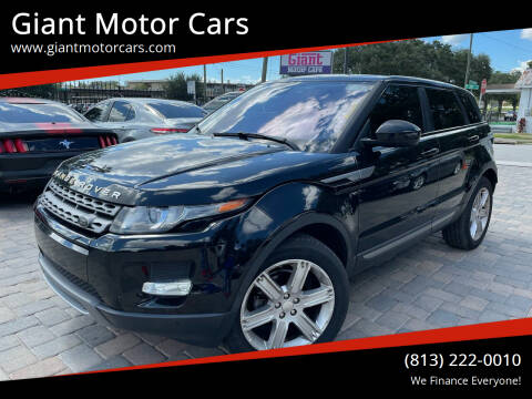 2014 Land Rover Range Rover Evoque for sale at Giant Motor Cars in Tampa FL
