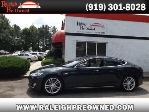 2013 Tesla Model S for sale at Raleigh Pre-Owned in Raleigh NC