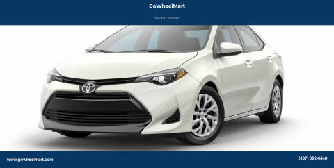 2017 Toyota Corolla for sale at GOWHEELMART in Available In LA