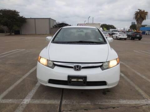 2008 Honda Civic for sale at MOTORS OF TEXAS in Houston TX