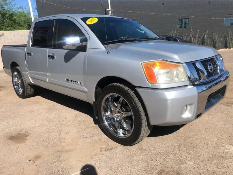 2011 Nissan Titan for sale at Fast Trac Auto Sales in Phoenix AZ