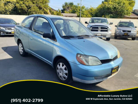2001 Toyota ECHO for sale at Affordable Luxury Autos LLC in San Jacinto CA