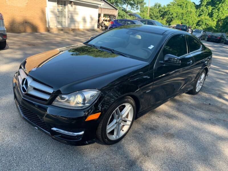 2012 Mercedes-Benz C-Class for sale at Philip Motors Inc in Snellville GA