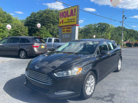 2013 Ford Fusion for sale at No Full Coverage Auto Sales in Austell GA