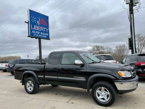 2000 Toyota Tundra for sale at Liberty Auto Sales in Merrill IA