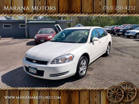 2007 Chevrolet Impala for sale at Marana Motors in Princeton MN