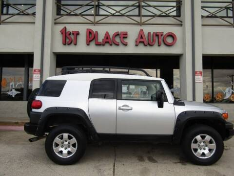2007 Toyota FJ Cruiser for sale at First Place Auto Ctr Inc in Watauga TX