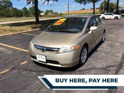 2007 Honda Civic for sale at Stryker Auto Sales in South Elgin IL