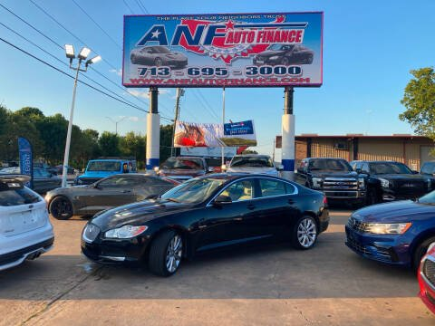 2010 Jaguar XF for sale at ANF AUTO FINANCE in Houston TX