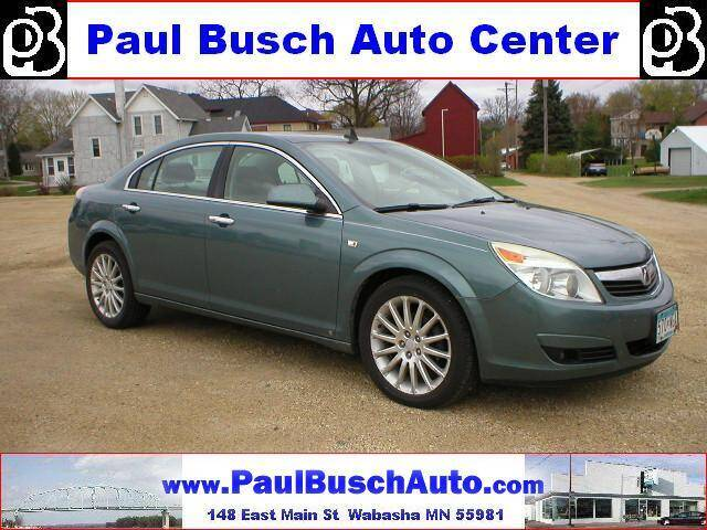 2009 Saturn Aura for sale at Paul Busch Auto Center Inc in Wabasha MN