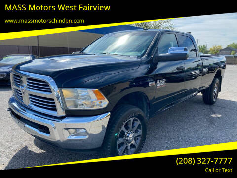 2014 RAM Ram Pickup 2500 for sale at M.A.S.S. Motors - West Fairview in Boise ID
