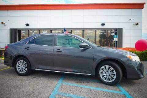2013 Toyota Camry for sale at Car Depot in Miramar FL
