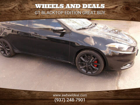 2016 Dodge Dart for sale at Wheels and Deals in New Lebanon OH
