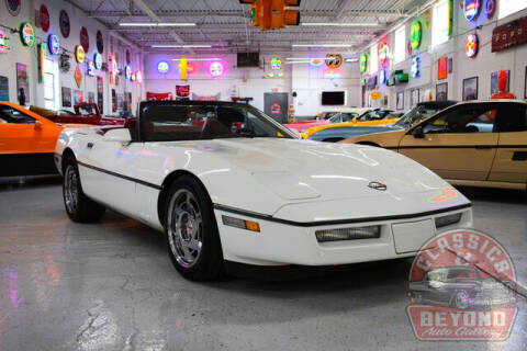 1990 Chevrolet Corvette for sale at Classics and Beyond Auto Gallery in Wayne MI