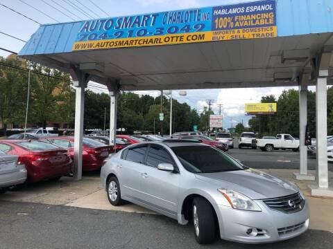 2012 Nissan Altima for sale at Auto Smart Charlotte in Charlotte NC