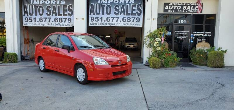 2003 Suzuki Aerio for sale at Affordable Imports Auto Sales in Murrieta CA