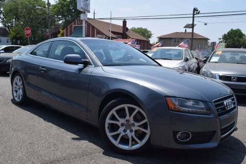 2012 Audi A5 for sale at VNC Inc in Paterson NJ