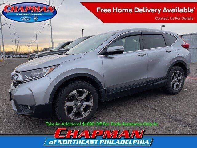 2017 Honda CR-V for sale at CHAPMAN FORD NORTHEAST PHILADELPHIA in Philadelphia PA