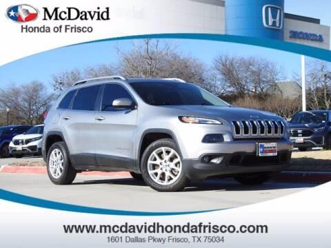 2017 Jeep Cherokee for sale at DAVID McDAVID HONDA OF IRVING in Irving TX
