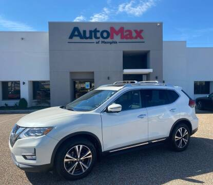 2017 Nissan Rogue for sale at AutoMax of Memphis in Memphis TN