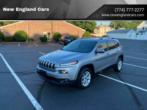 2014 Jeep Cherokee for sale at New England Cars in Attleboro MA