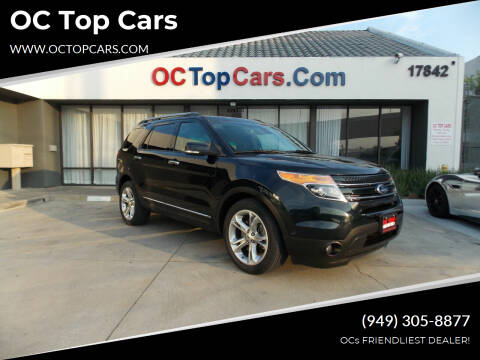2014 Ford Explorer for sale at OC Top Cars in Irvine CA