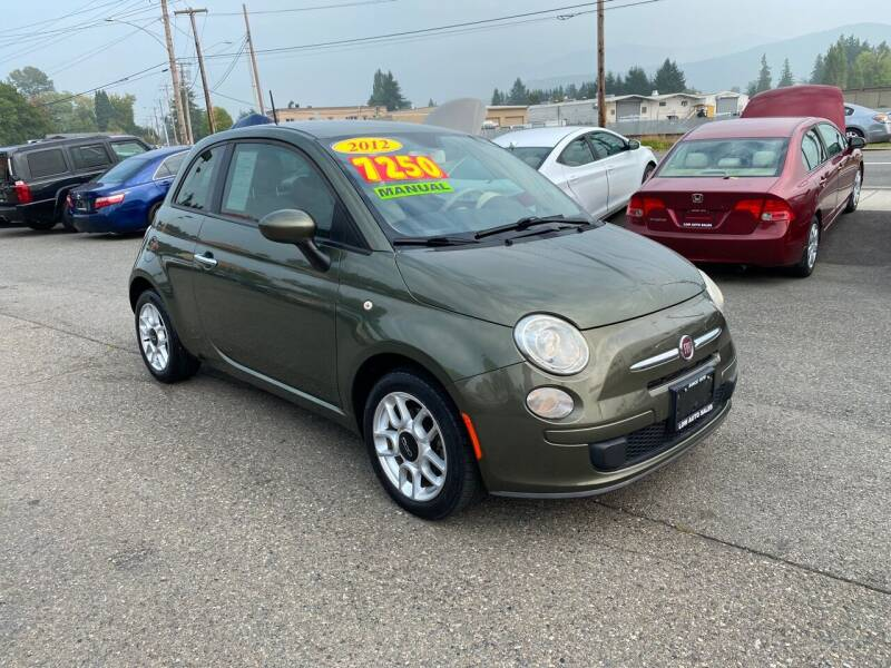2012 FIAT 500 for sale at Low Auto Sales in Sedro Woolley WA