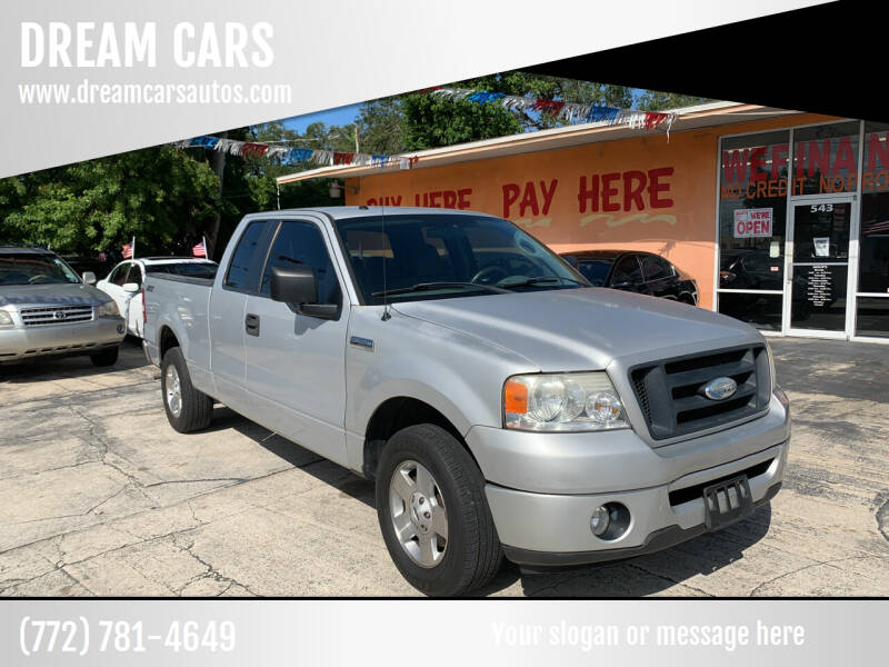 2006 Ford F-150 for sale at DREAM CARS in Stuart FL