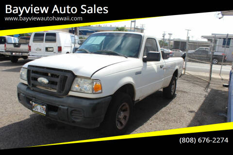 2008 Ford Ranger for sale at Bayview Auto Sales in Waipahu HI