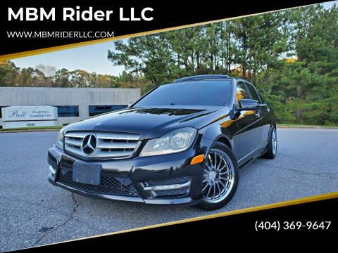 2012 Mercedes-Benz C-Class for sale at MBM Rider LLC in Alpharetta GA