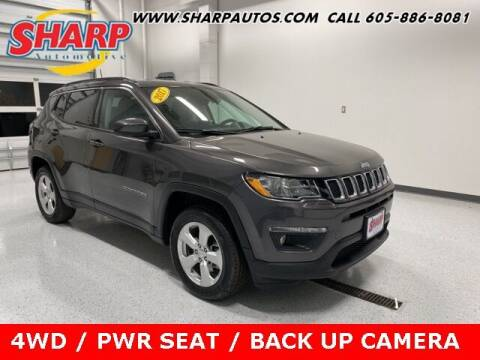 2017 Jeep Compass for sale at Sharp Automotive in Watertown SD
