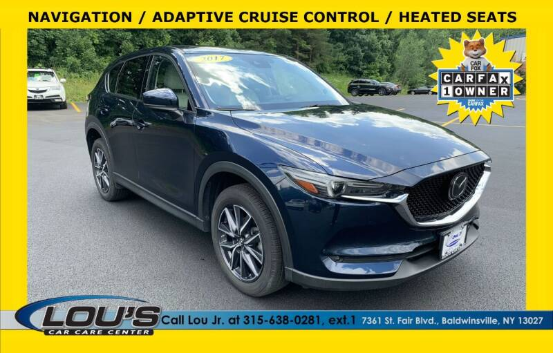 2017 Mazda CX-5 for sale at LOU'S CAR CARE CENTER in Baldwinsville NY