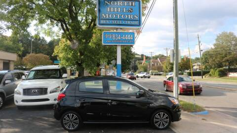 2018 Mitsubishi Mirage for sale at North Hills Motors in Raleigh NC