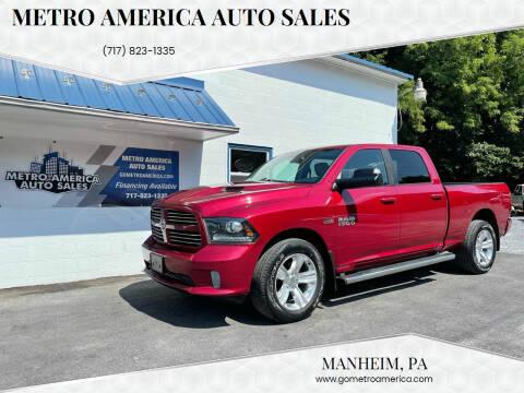 2014 RAM Ram Pickup 1500 for sale at METRO AMERICA AUTO SALES of Manheim in Manheim PA