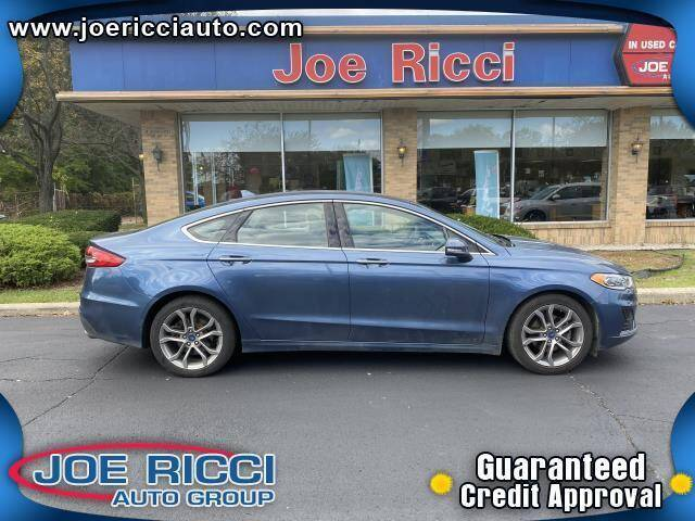 2019 Ford Fusion for sale at JOE RICCI AUTOMOTIVE in Clinton Township MI