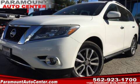2015 Nissan Pathfinder for sale at PARAMOUNT AUTO CENTER in Downey CA