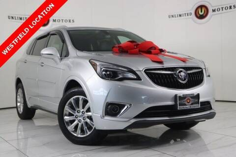 2019 Buick Envision for sale at INDY'S UNLIMITED MOTORS - UNLIMITED MOTORS in Westfield IN