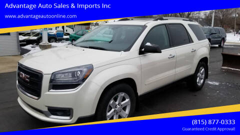2015 GMC Acadia for sale at Advantage Auto Sales & Imports Inc in Loves Park IL